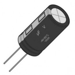 Electrolytic Radial 33uF 250V
