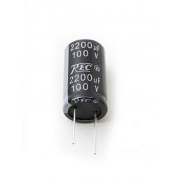 Electrolytic Radial 2200uF 100V