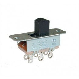 Slide Switch DPDT 250V 3A