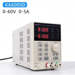 KORAD KA6005D -Precision Variable Adjustable 60V, 5A DC Linear