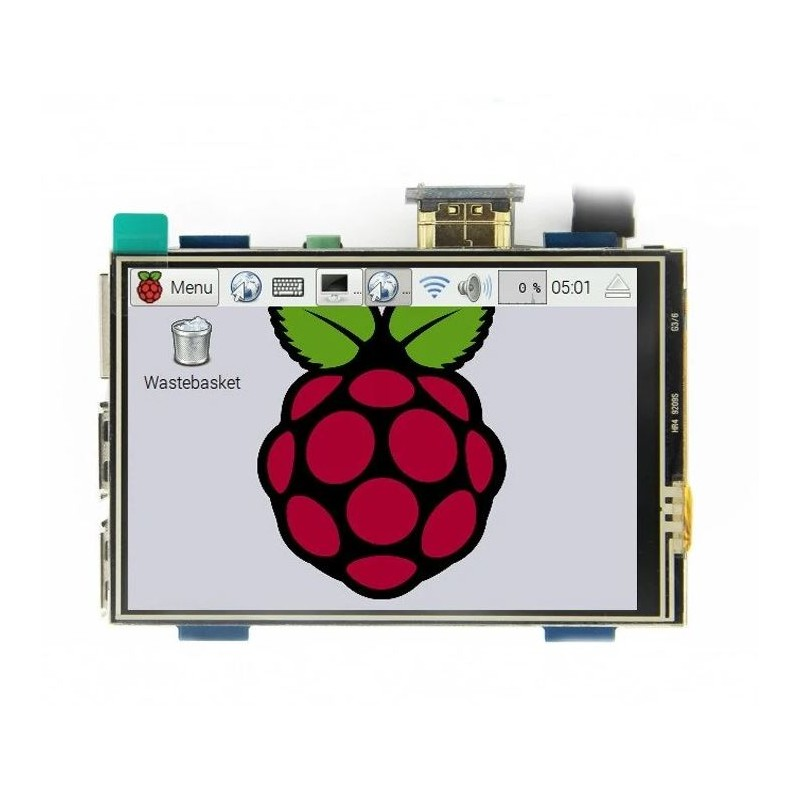 3.5 inch USB Touch Screen Display for Raspberry PI4