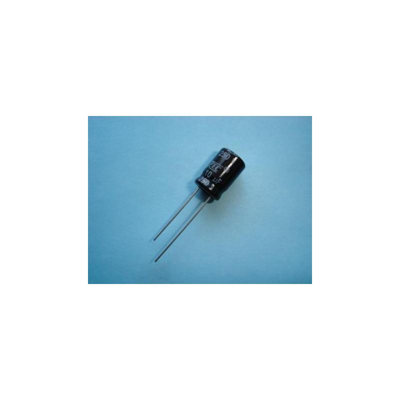 Electrolytic Radial 10uF 250V