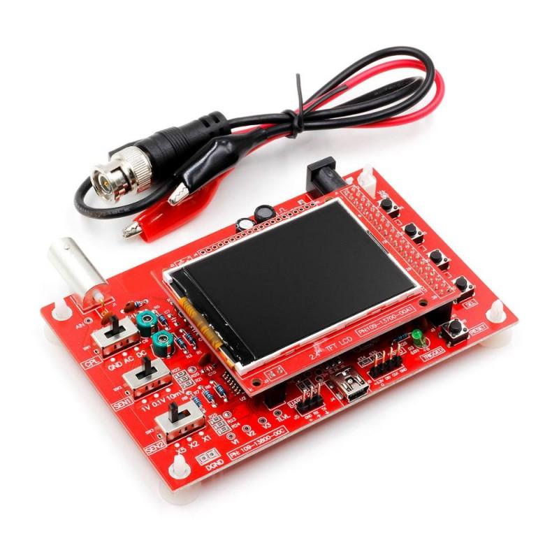 "DS0138 2.4"" TFT Digital Oscilloscope Assembled 1msps"