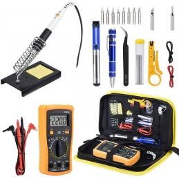 Soldering Iron Tool Kit with Multimeter