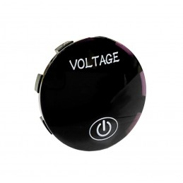 Lumeno LED Voltmeter Socket With On/Off Switch