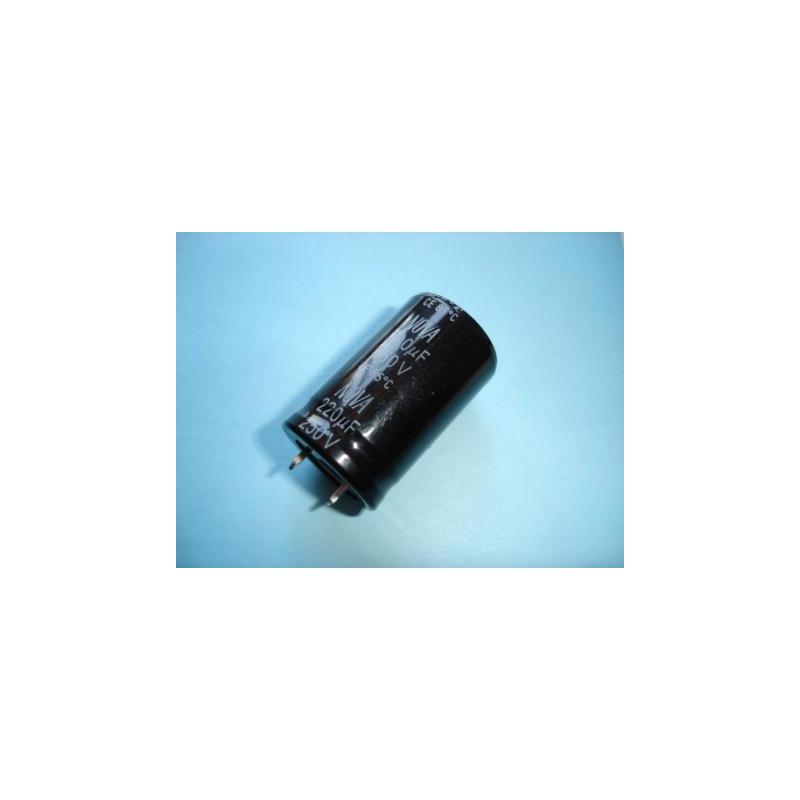 Electrolytic Radial 220uF 250V