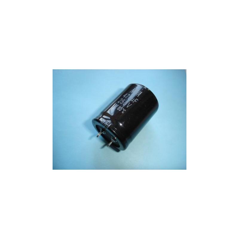 Electrolytic Radial 470uF 250V