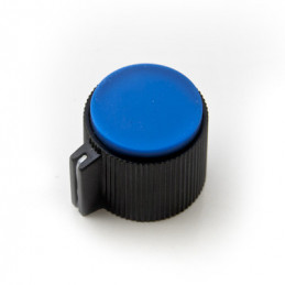 Plastic Knob screw type S8871 Blue