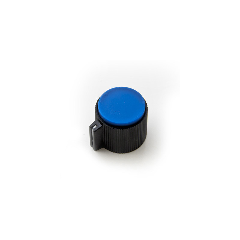 Plastic Knob screw type S8871 Blue