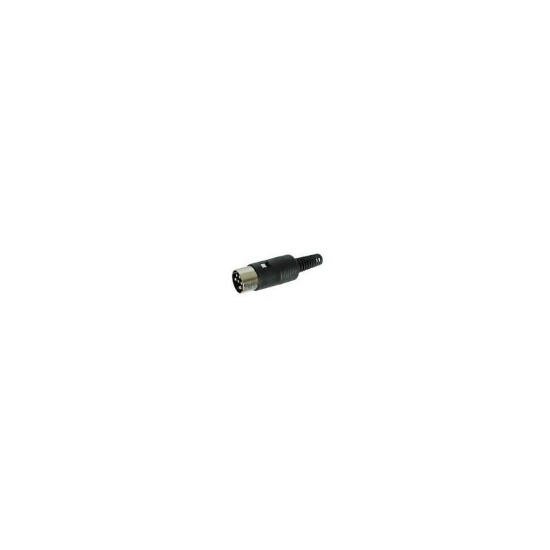 Din Plug Inline 6 Pin