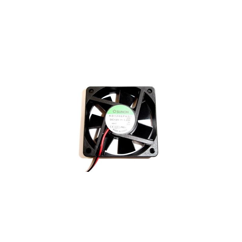 Fan 60x60x15 12VDC