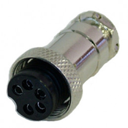 5P Mic female connector
