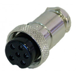 6P Mic female connector