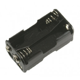 Battery Holder 4xAA Square