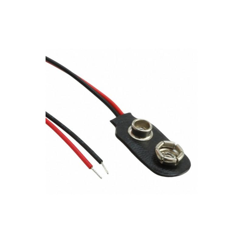 Battery Clip For 9V PP3 Battery
