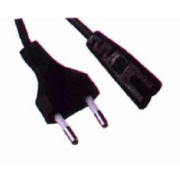 AC Cord 2Pin VDE to Fig 8
