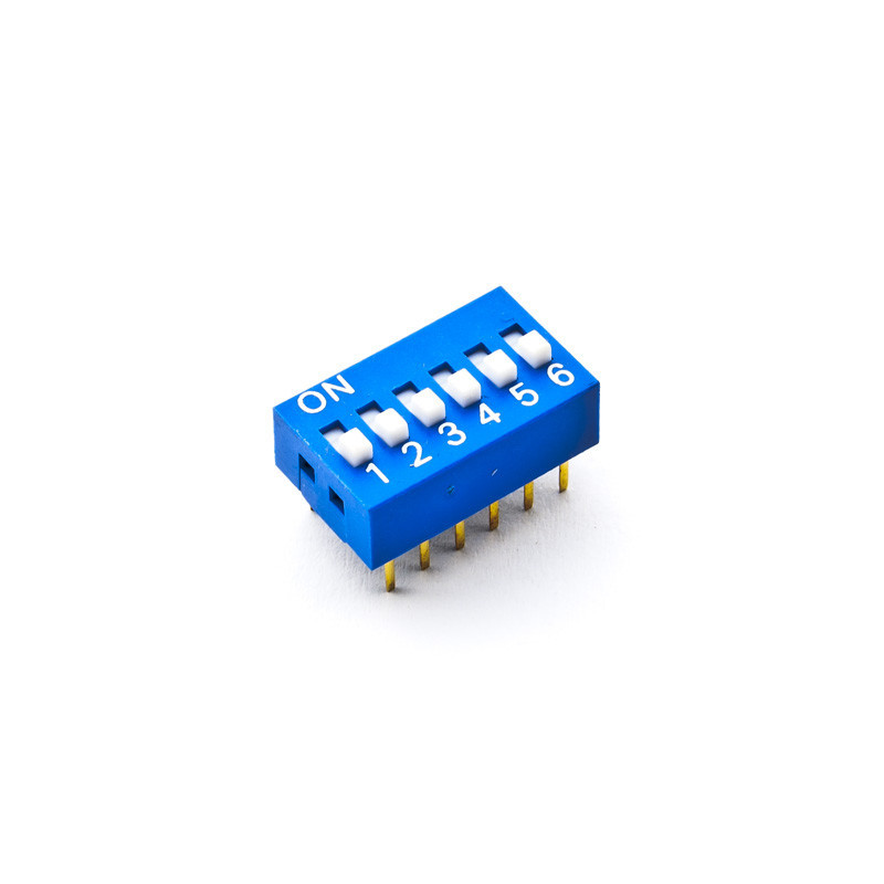 Dip Switch SPST 6 Positions
