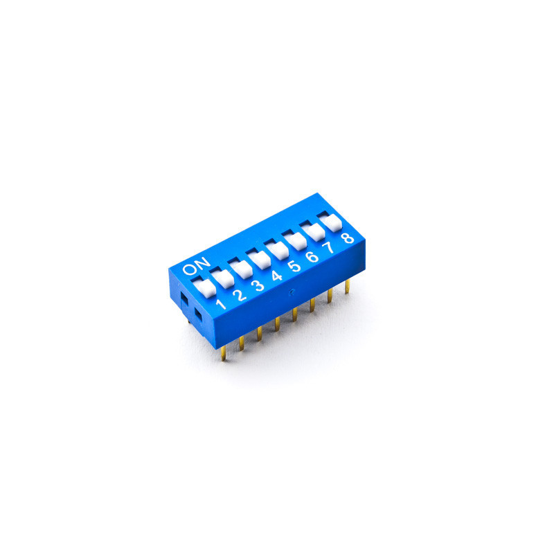 Dip Switch SPST 8 Positions