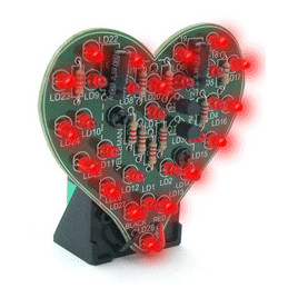 MK101 Flashing led sweetheart
