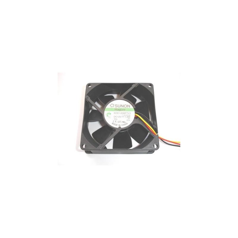 Fan 80x80x25 12V DC 3 Wire