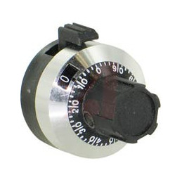 H506 15-Turn 22.5mm Diameter Dial Mechanism Knob