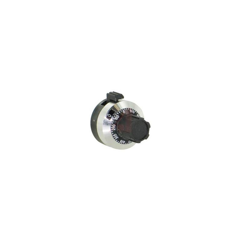 H506 15-Turn 22.5mm Diameter Dial Mechanism Knob