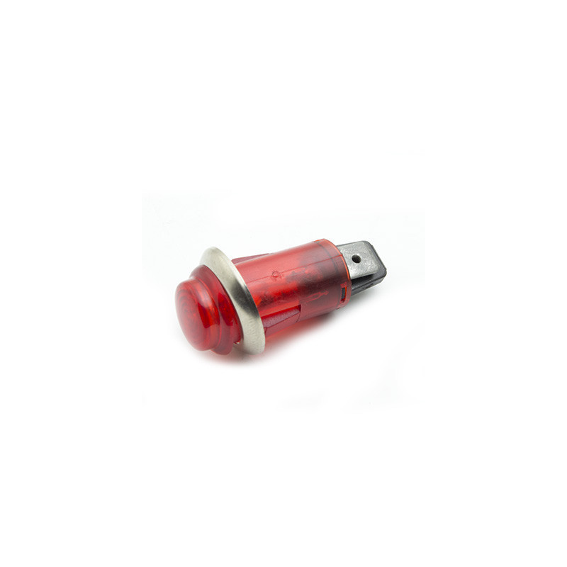 Neon Indicator 13mm RED panel indicator,220-250Vac