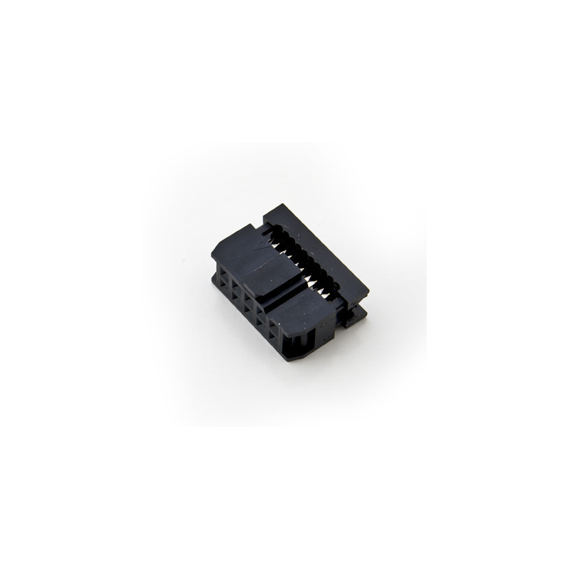 10-PIN IDC Socket cable mount