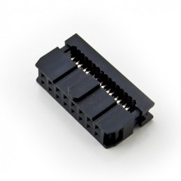 16-PIN IDC Socket cable mount