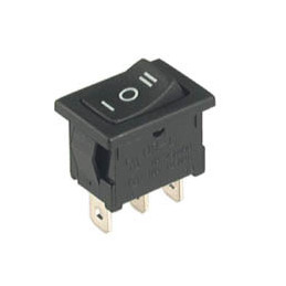 Rocker Switch 3P SPDT ON-OFF-ON