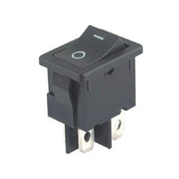 Rocker Switch 4P DPST B100R ON-OFF