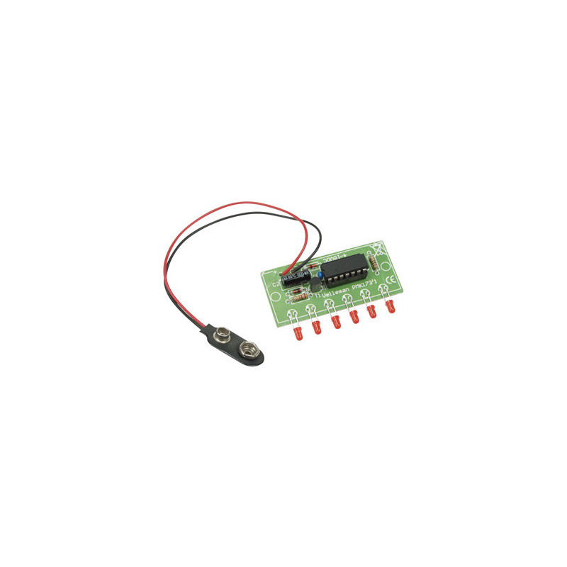 MK173 Mini-6-led chaser