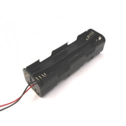 Battery Holder 8xAA Long - Wire