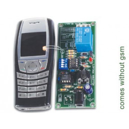 MK160 Remote control via gsm mobile phone