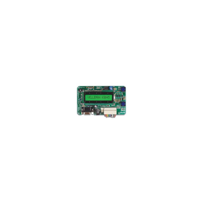 K8045 Programmable message board with lcd, serial interface