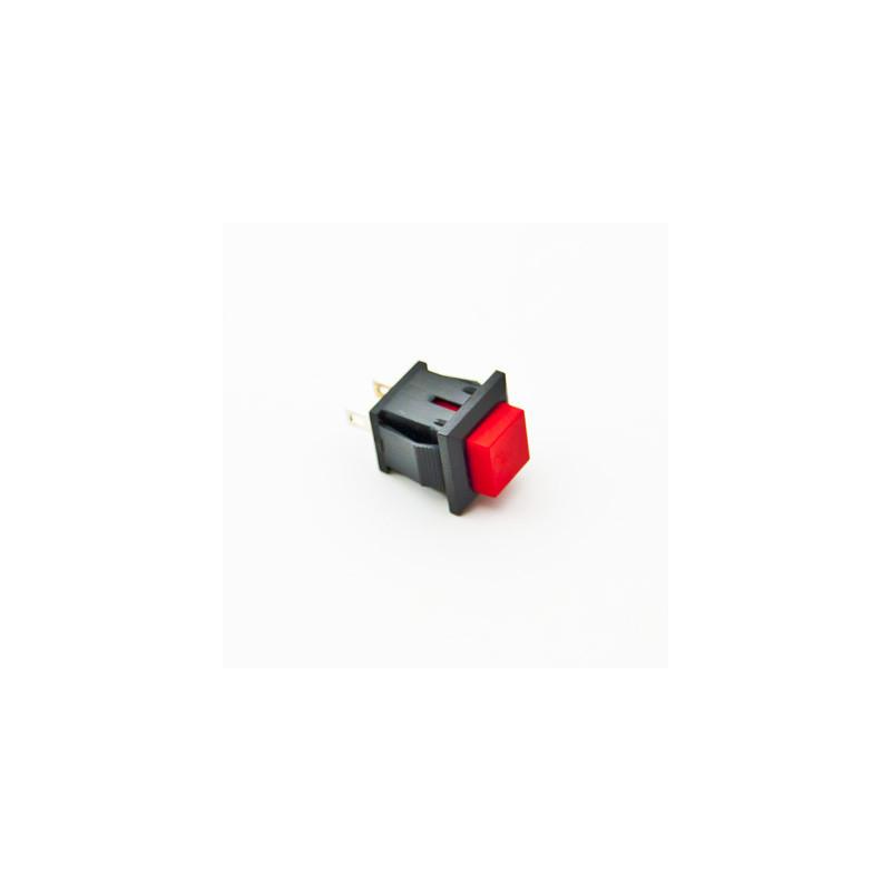 B169B Push Button Square red N/C