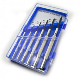 low cost screwdriver set 3*FLAT/3*CROSS)