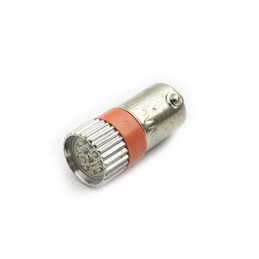BA9S Led Lamp Red 24V AC/DC