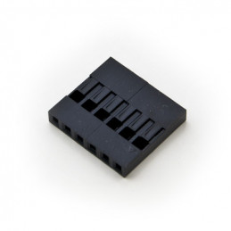 YY09C06 2.54mm HOUSING 6P (SINGLE ROW)