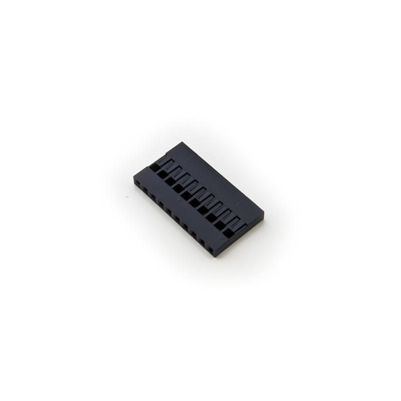 YY09C10 2.54mm HOUSING 10P(SINGLE ROW)