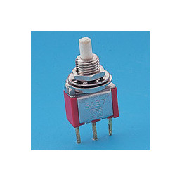 8125SHZBE Snap-acting Momentary Pushbutton Switch SPDT