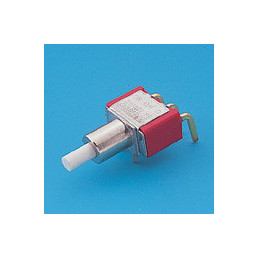 8125PCBRA Snap-acting Momentary Pushbutton Switch SPDT R/A