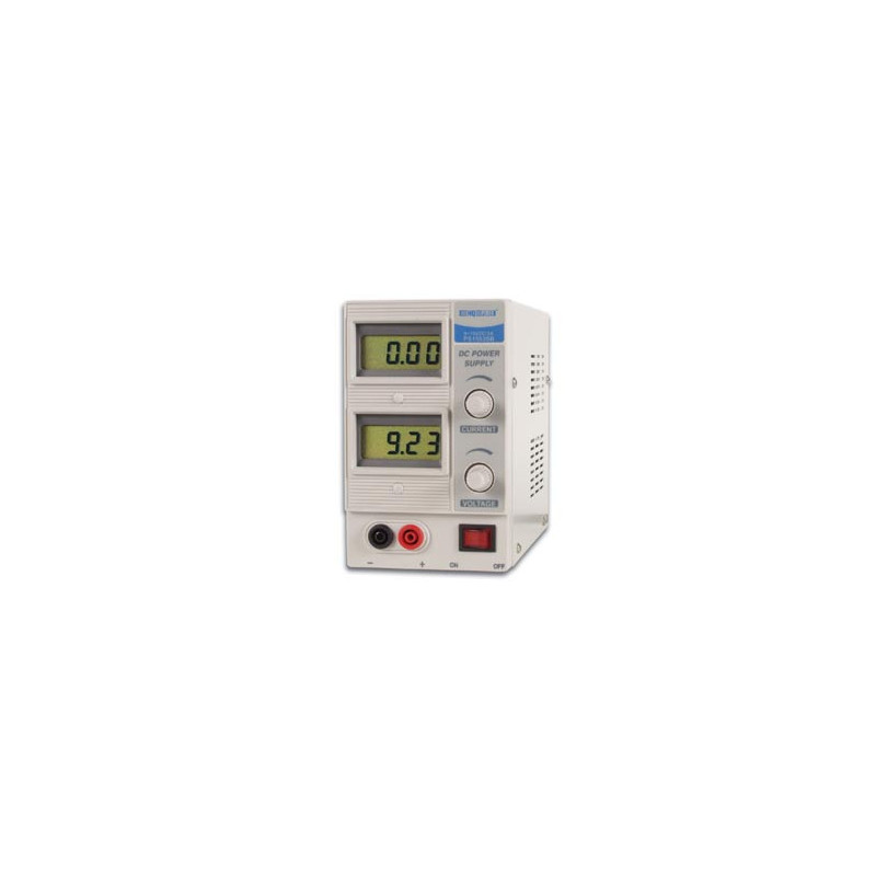 DC Lab Power Supply 0-15V DC 3A Variable - Digital Display PS150