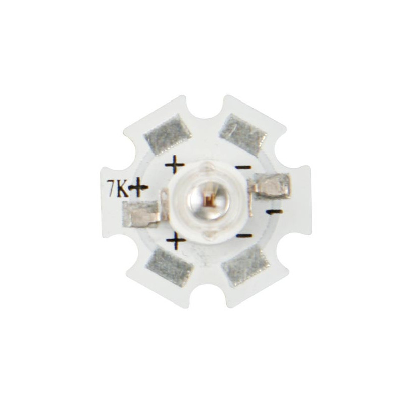 1W High Power Led - Yellow Amber - 60lM