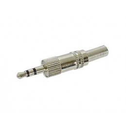 Jack Plug 3.5mm Stereo Nickel
