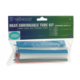 Heat Shrinkable Tube Kit - 40pcs- MULTICOLOUR