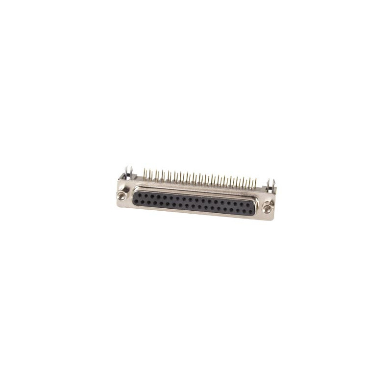 FEMALE 37-PIN SUB-D CONNECTOR - PCB MOUNTING