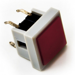 B1736AA Tactile Switch Square Red