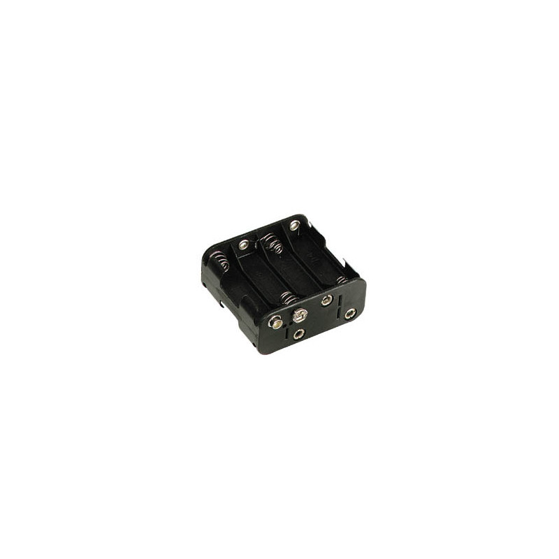 Battery Holder 8xAA Square (Snap)