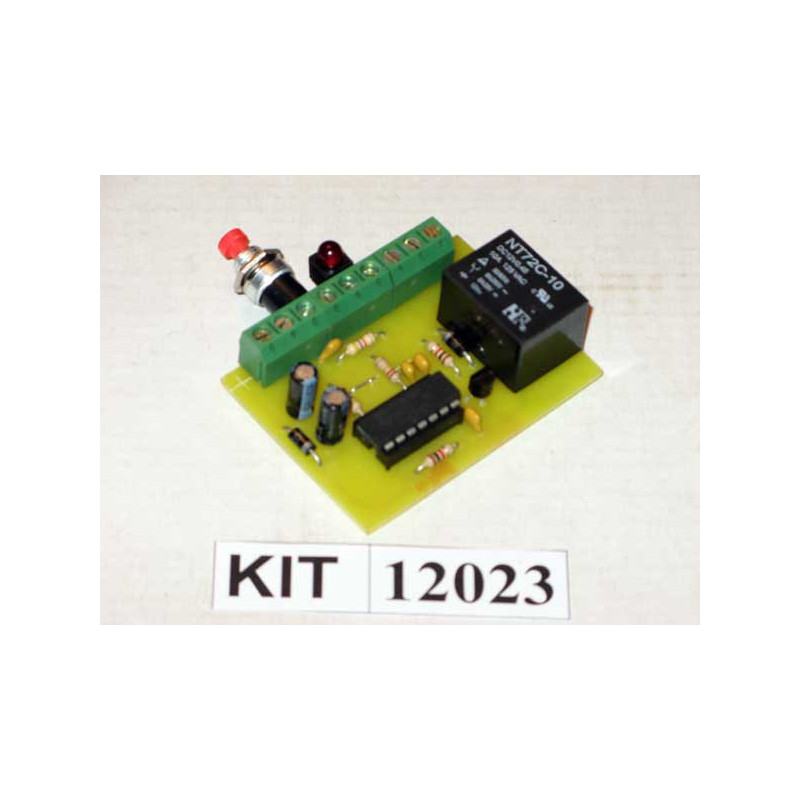 12V Latching Circuit Kit 12023